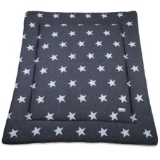 Baby's Only Boxcloth Star Anthracite (80x100)