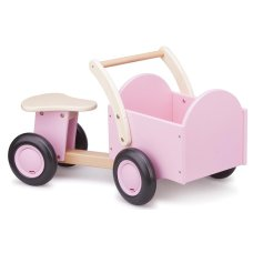 Nya Classic Toys Wood Bakfiets Pink