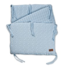 Baby's Only Bedbumper Cable Baby Blue